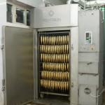 Устройство термокамеры для копчения