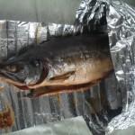 Рыба в пакете для копчения
