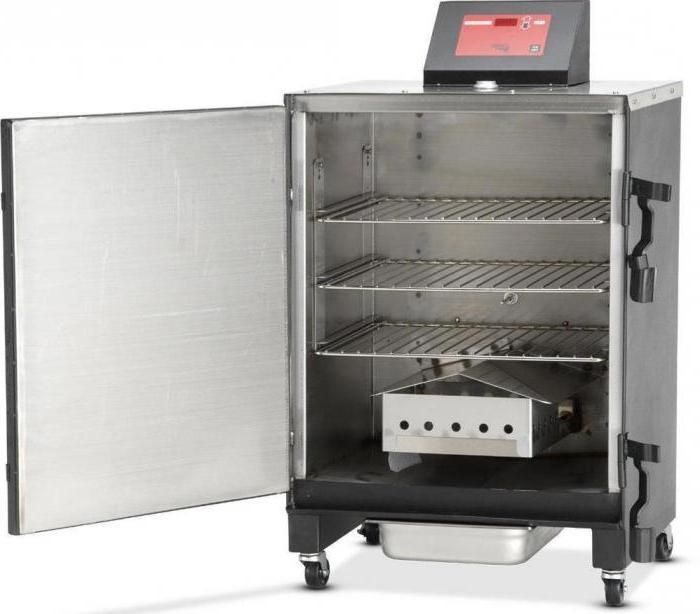 Электрокоптильня для домашнего и ресторанного приготовления блюд