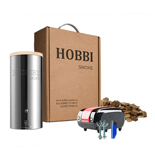 (Рис. 13 - дымогенератора Hobbi Smoke)