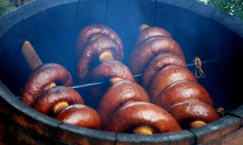 Оборудование и сырье для копченых колбас