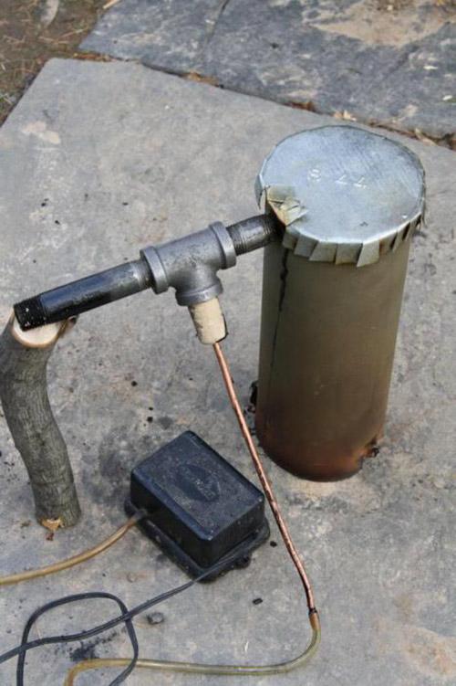 Дымогенератор для коптильни холодного копчения своими руками